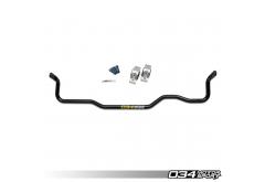 034 Motorsport Adjustable MQB Solid Rear Sway Bar Upgrade
