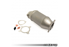034 Motorsport Cast Stainless Steel Racing Catalyst, B9 Audi A4/A5 & Allroad 2.0 TFSI