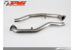AWE Tuning Porsche 997.2  Rear Center Muffler Crossover Pipe Replacement