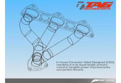 AWE Tuning Porsche 997 Turbo Header System