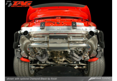 AWE Tuning Porsche 997.1 GT2 Mufflers with 200 Cell Cats