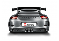 Akrapovic Exhaust for GT3 Including Rear Diffusor