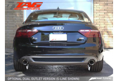 AWE Tuning Audi A5 2.0T Catback Dual Exhaust System Coupe/Cabrio