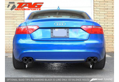 AWE Tuning Audi A5 2.0T Catback Quad Exhaust System Coupe/Cabrio