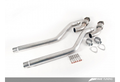 AWE Tuning Audi 3.0T Non-Resonated Downpipes