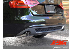 AWE Tuning Audi A4 B8 Dual Outlet Exhaust System