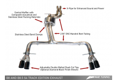 AWE Tuning Audi B8 S4 Track Edition Exhaust System
