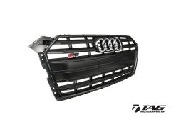 B9 S5 Black Optics Front Grill