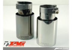 AWE Tuning Porsche 997 Turbo Tuning Tips Silver or Black Diamond finish