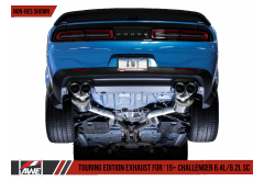 AWE 15+ Challenger Performance Exhaust Suite