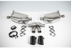 TechArt Sport Exhaust System (with Valves) for Porsche 981