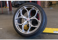 """INVENTORY SPECIAL - HRE P111 SC 23"""" Wheel Set for Range Rover"""