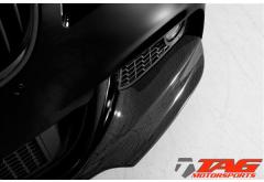 Vorsteiner BMW 5-Series VR5 Aero Front Add On Spoiler Carbon Fiber