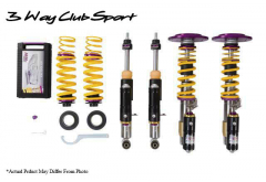 KW Clubsport 3-Way Coilover Suspension for 991.2 GT3