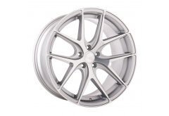 AG M580 WHEELS IN SATIN SILVER FINISH