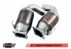 AWE Tuning Porsche 991.2 3.0L Performance Catalysts (Non-PSE Only)