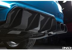 RKP F90 M5 Carbon Rear Diffuser
