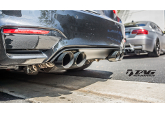 AWE Tuning 102mm Diamond Black Exhaust System