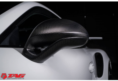 TechArt Sport Design Side Mirrors in Carbon