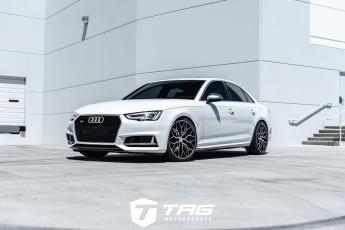 18 B9 S4 on HF-2 Vossen Wheels