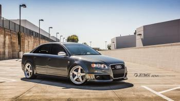 08' RS4 on ADV5TF Wheels