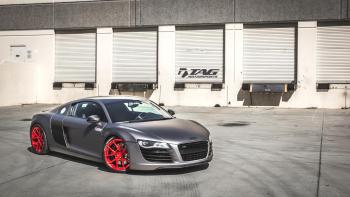11' R8 ON MORR WHEELS