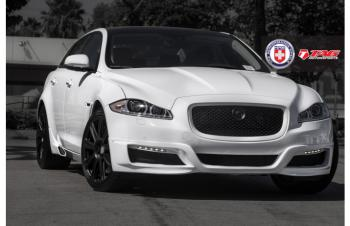 12' JAGUAR XJL ON HRE P93L