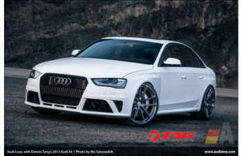 13' AUDI RS4 CONVERSION