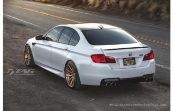 13' BMW M5 ON ADV WHEELS