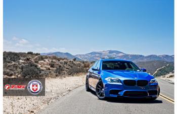 13' BMW M5 ON HRE P44SC