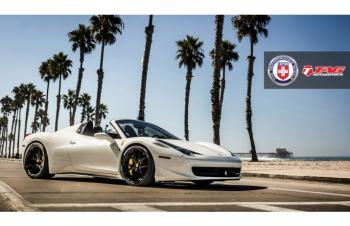 14' 458 SPIDER ON HRE P101 WHEELS