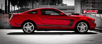 """14' BOSS 302 MUSTANG ON 19"""" HRE P45S"""