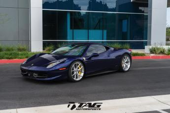 "14' Ferrari 458 on 20/21"" HRE P101"