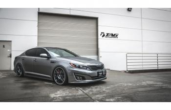 14' KIA OPTIMA W/ ACCUAIR AND VOSSEN