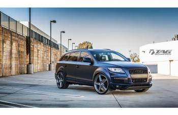 14' Q7 ON HRE TR105 WHEELS