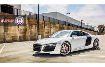 14' R8 ON HRE P40SC WHEELS