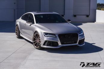 "14' RS7 on 21"" Vossen CG-204"