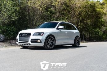 14' SQ5 ON VORSTEINER FORGED WHEELS