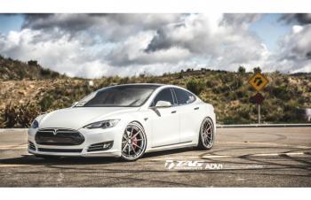 14' Tesla on ADV Wheels
