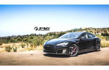 14' Tesla on T-Sportline Wheels