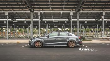 15' AUDI S3 ON ADV WHEELS