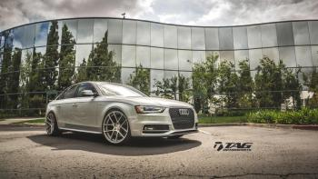 15' AUDI S4 ON AG WHEELS
