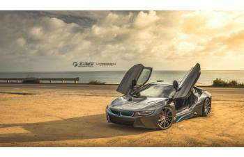 15' BMW I8 ON VOSSEN FORGED