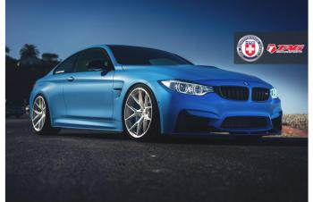 15' BMW M4 ON HRE P101
