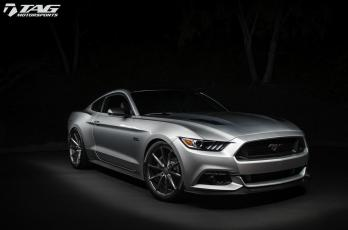 15' FORD MUSTANG GT ON VOSSEN