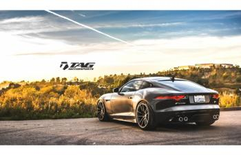 15' JAGUAR F-TYPE ON HRE P104