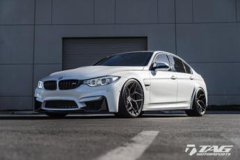 """15' M3 on 20"""" Brixton Forged Wheels"""