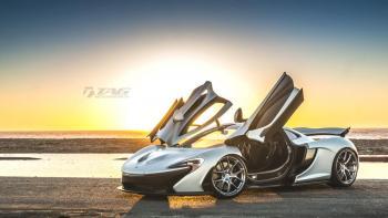 "15' McLaren P1 on 20/21"" HRE P101 Wheels"