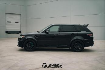 "15' Range Rover Sport on 22"" Vossen VFS2 Wheels"