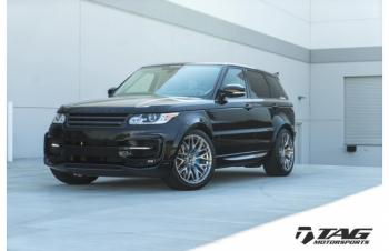 15' ROVER ON VORSTEINER VFE 503 WHEELS